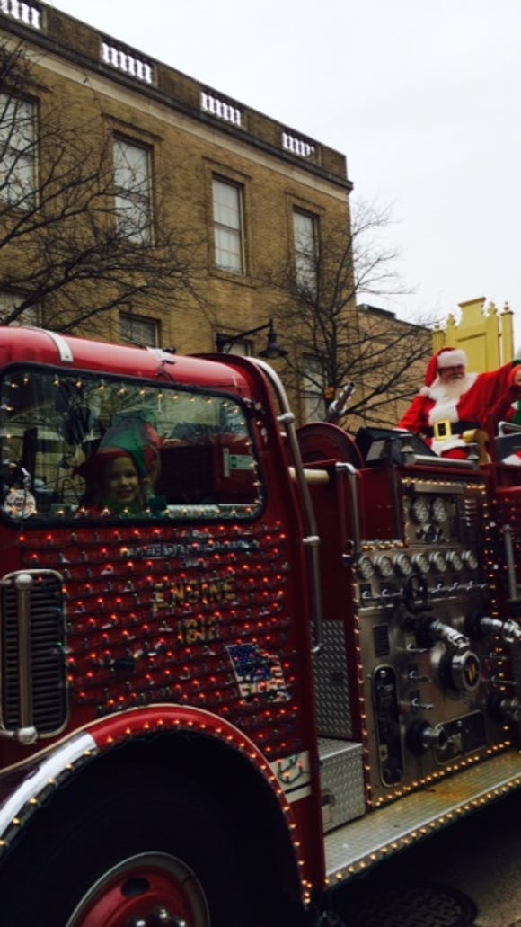 The Collingswood Holiday parade is a much-anticipated event each season.