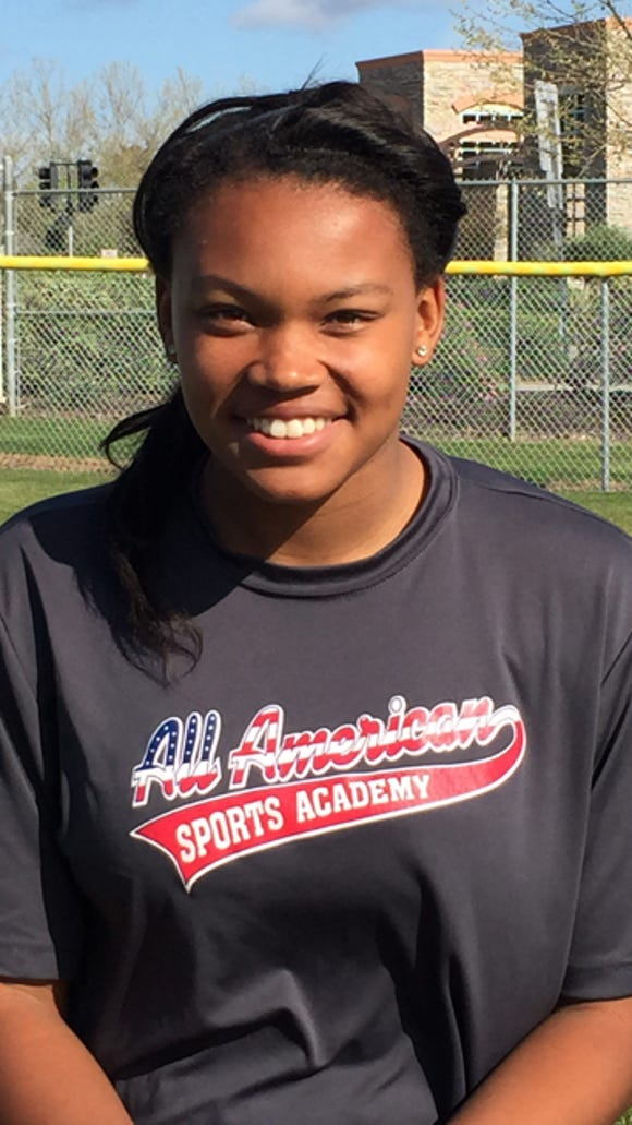 Nerissa Eason is one of the top high school softball
