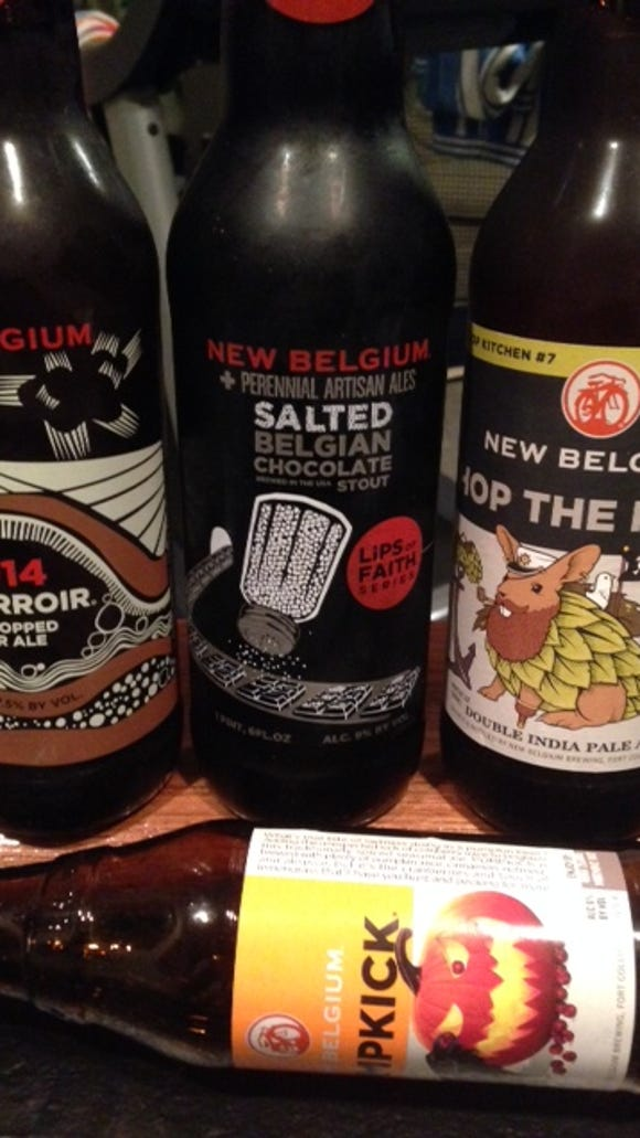 New Belgium's fall winners, including Salted Belgian