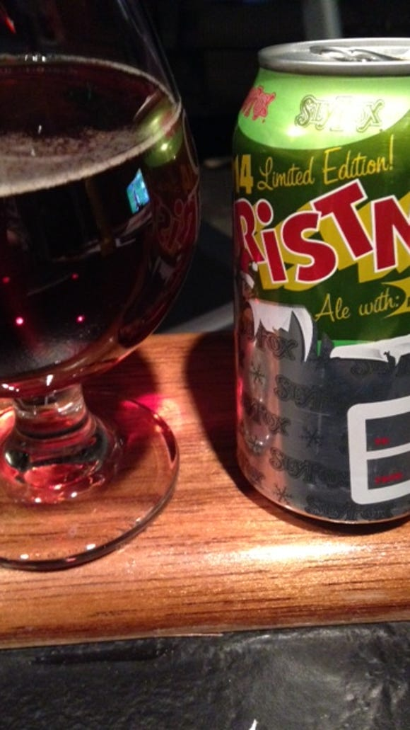 Tough to do better than Sly Fox Christmas Ale