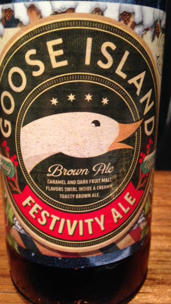 Goose Island's Festivity Ale