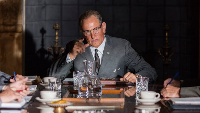 "Woody Harrelson stars as President Lyndon B. Johnson in director Rob Reiner's ""LBJ."""