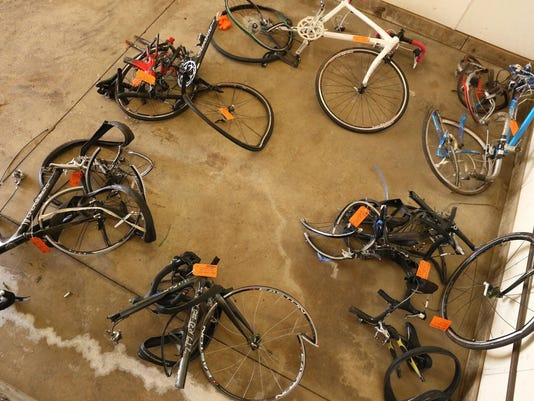 Bicyclists Struck Michigan