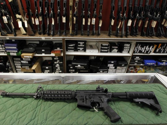 About 8 in 10 Democrats support a ban on AR-15 rifles