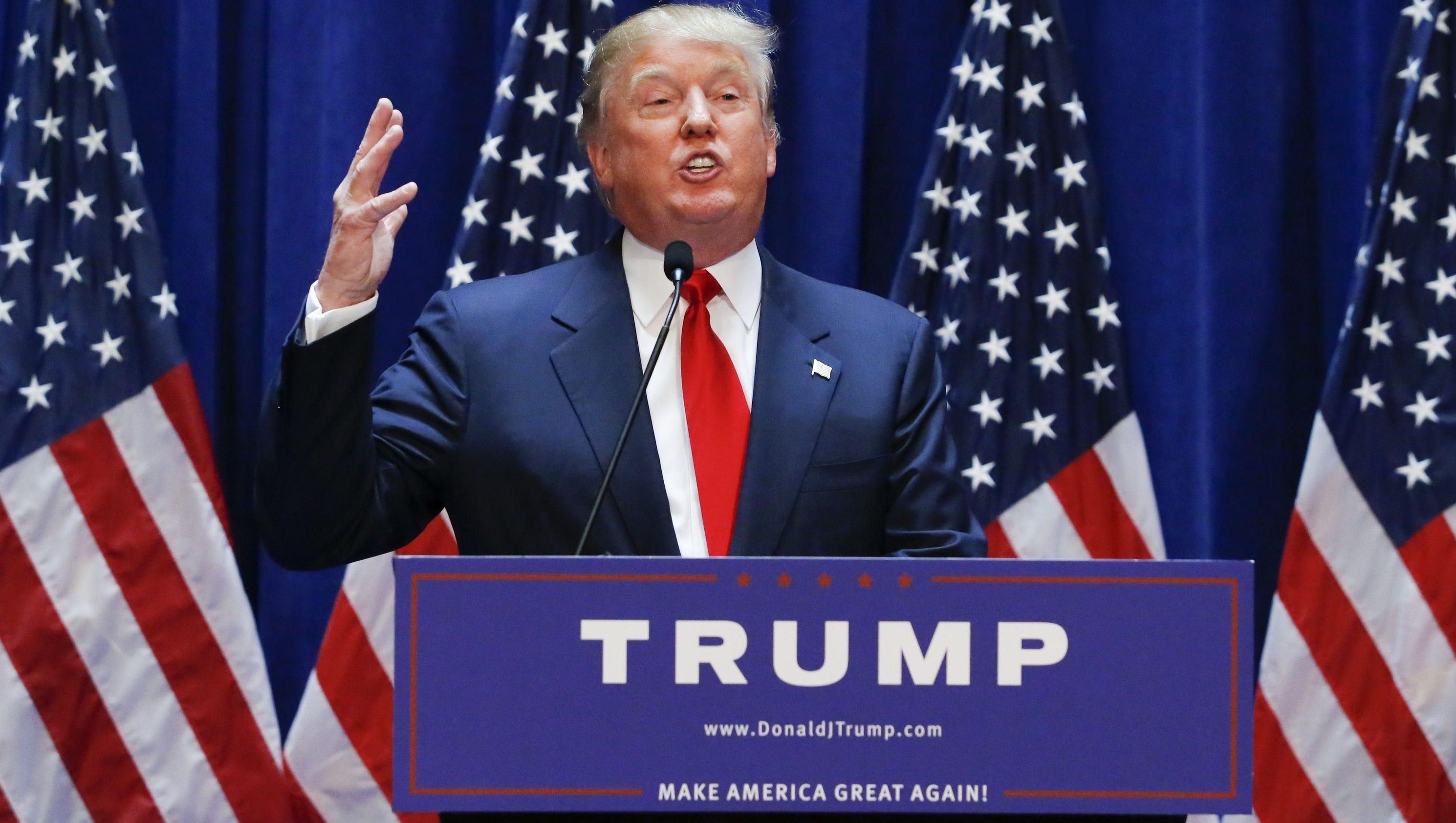 Donald Trump's heated immigration rhetoric rattles GOP ...