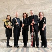 Wingra Woodwind Quintet performing at Waelderhaus