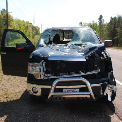 A Wis. man was killed when a deer struck by a passing