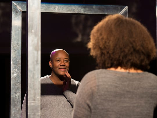 Jorell Williams (Hannah before) in Seattle Opera's