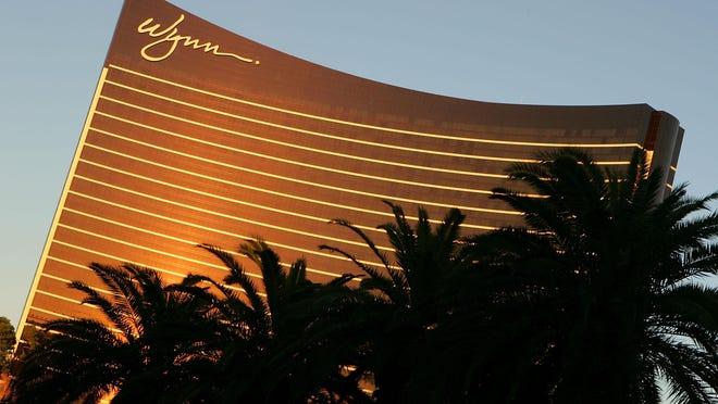 Exterior photo of the Wynn Las Vegas Resort October 14, 2005.