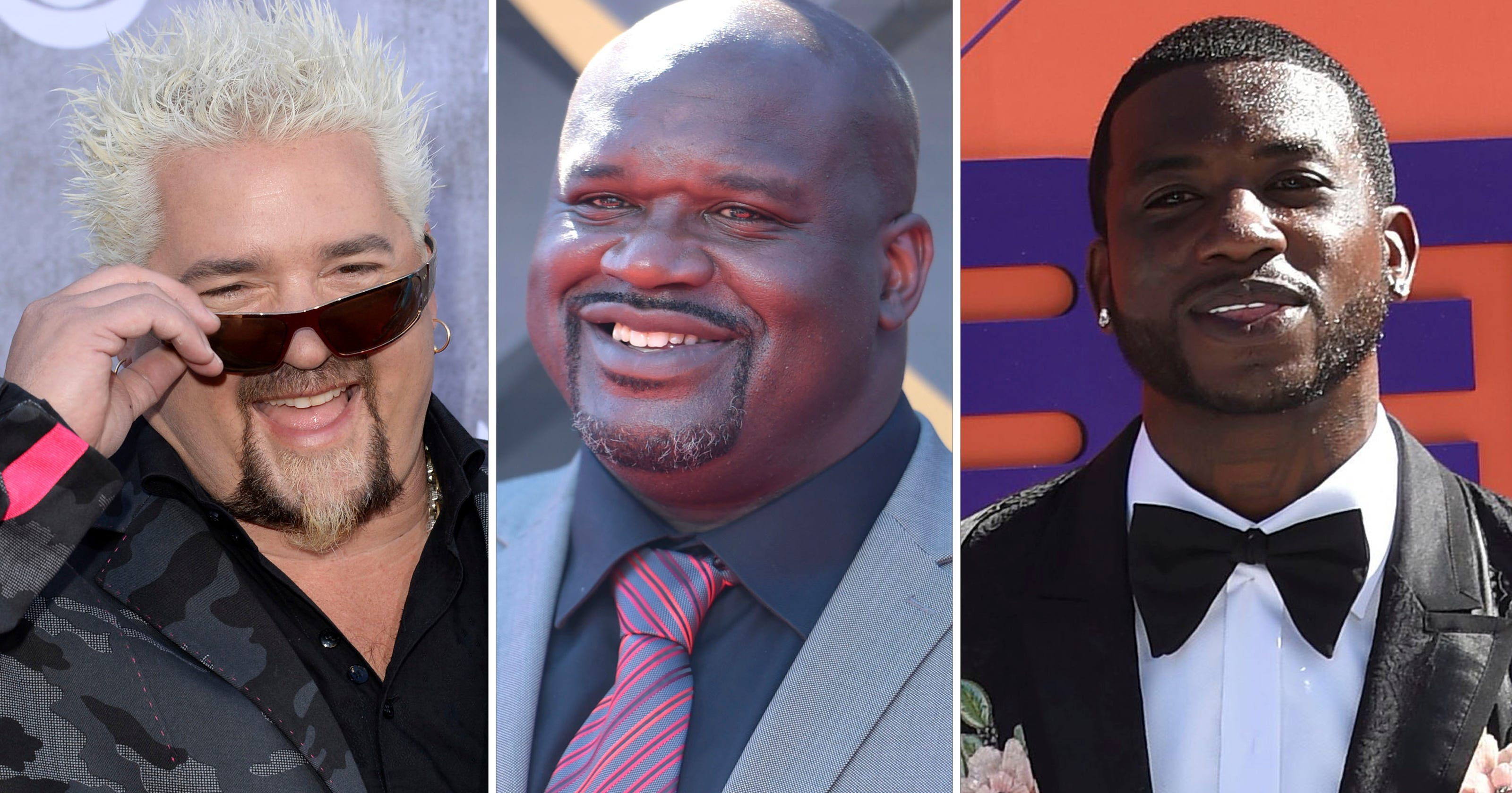 Shaq, Gucci Mane, Guy Fieri, Jamie Foxx partied at Miami club