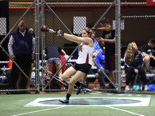 Hannah Jackson of Arlington competes and goes on to