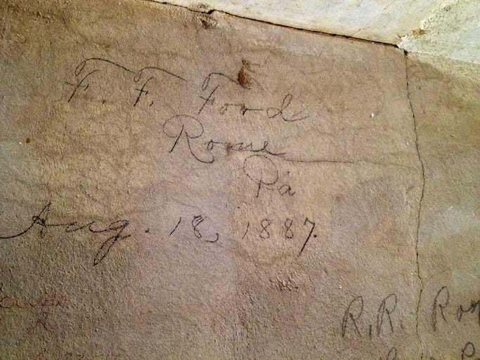 One of the oldest signatures are the Old Methodist Church along U.S. Route 6 near West Burlington dates back to 1887.