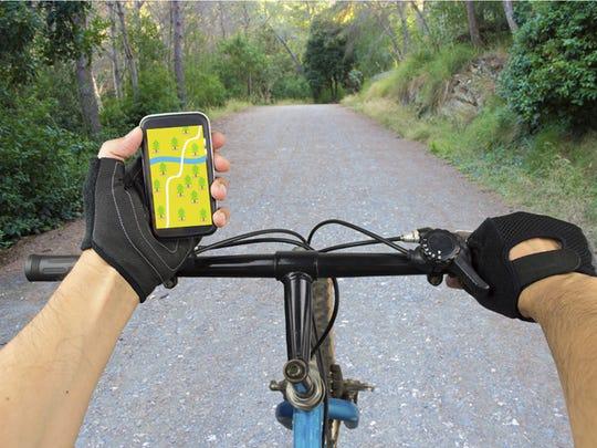 search GPS coordinates in bike