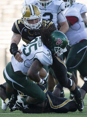 Junior linebacker Kourtney Berry has posted 233 total tackles in his first two years at Alabama State.