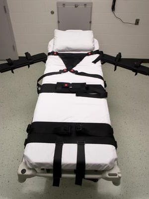 A federal judge says the state of Alabama may not use a large dose of a sedative to execute five death row inmates.