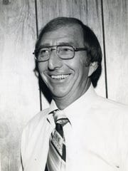 Gordon Towne, WCOA radio personality, in an undated