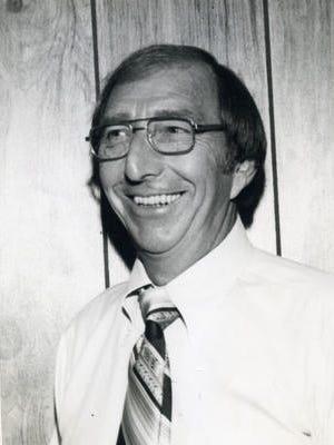 Gordon Towne, WCOA radio personality, in an undated photo.
