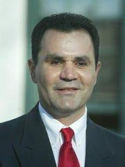 Former Perth Amboy Board of Education member Israel Varela