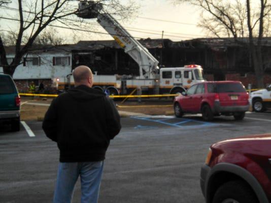 Fire in Deptford