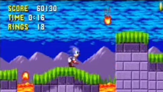Sonic The Hedgehog comes in at No. 30 on the list of
