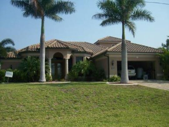 This home at 3213 NW 21st Terrace in Cape Coral recently