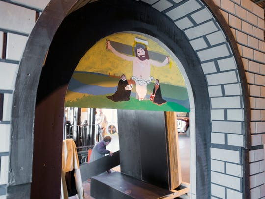 A castle entryway on the parade float will feature Martin Luther with The 95 Theses, remembering the 500th anniversary of Reformation Day on Oct. 31.