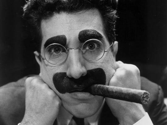 Actor/director/playwright Frank Ferrante portrays the late comedian Groucho Marx.
