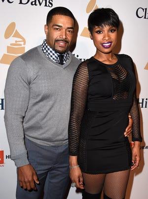Jennifer Hudson and her former fiancé David Otunga, pictured in Los Angeles in 2015, have split.