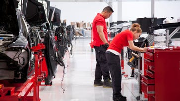 Tesla hit with workplace safety probe as it cranks up factory