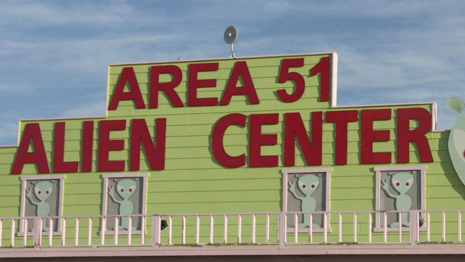 Aliens near Area 51 in Nevada? The community has grabbed hold of the lore, but there's no way to tell if its all for real.