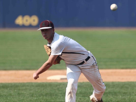 HIGH SCHOOL BASEBALL SEMIFINAL 2016 - MAY 28 - Caravel Academy defeats Middletown 11-1