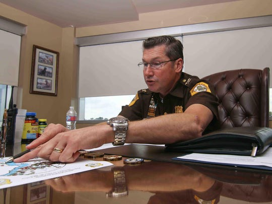 New Castle County Police Chief Elmer Setting discusses heroin-related incidents and the effectiveness of Narcan.