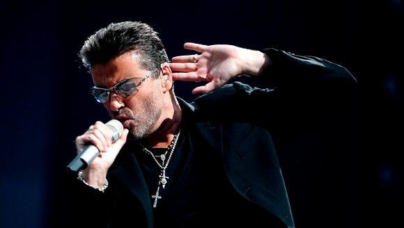 Pop icon George Michael.