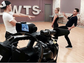 """Derek Hough (L) coaches his """"Dancing With the Stars"""""""