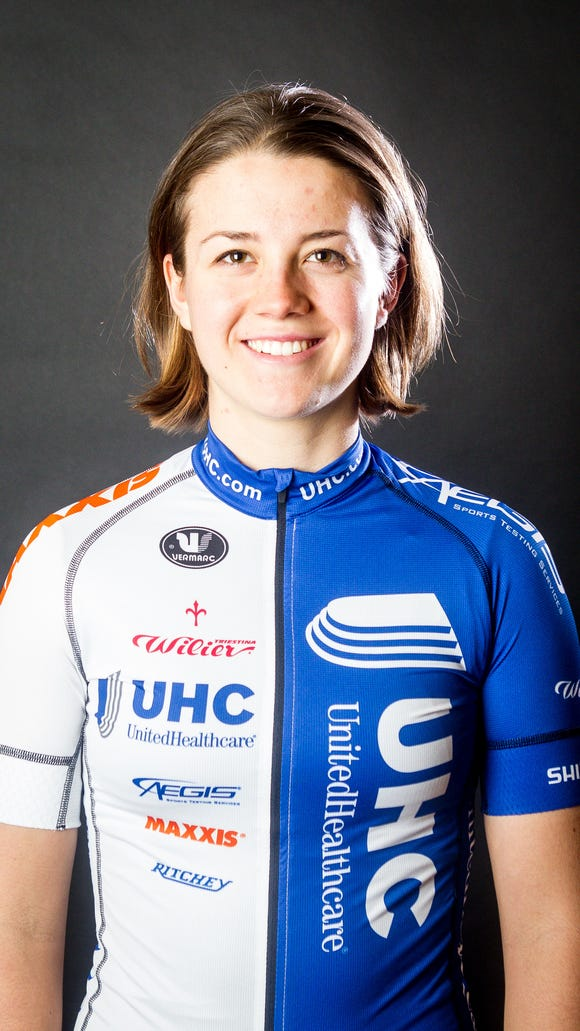 UnitedHealthcare Pro Cycling Team member Ruth Winder is competing in the Pan American Games in Canada in track cycling.