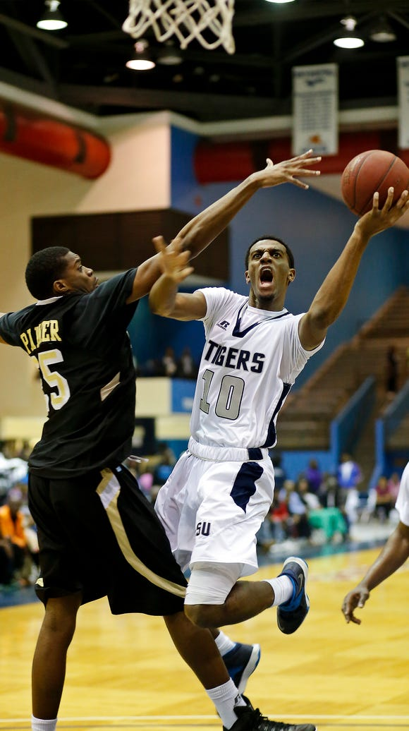 Jackson State's Raeford Worsham was a second-team All-SWAC