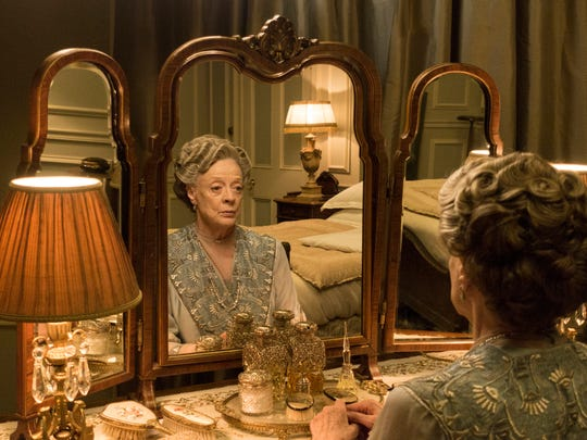 Dame Maggie Smith as Violet, Dowager Countess of Grantham