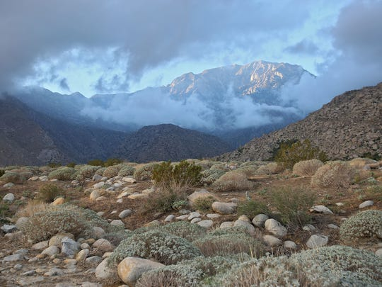 The Pacific Crest Trail passes through Snow Creek Canyon and onto the watershed that Desert Water Agency controls at the northern base of Mt. San Jacinto, Tuesday, September 16, 2014.