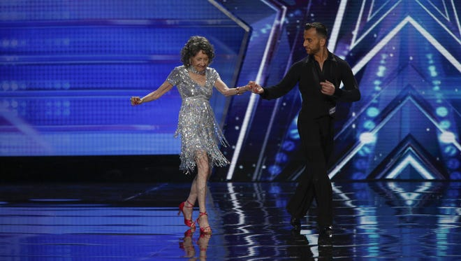 """""""I don't let anything get the better of me,"""" White Plains' Tao Porchon-Lynch told the judges of """"America's Got Talent"""" on Tuesday. She was advanced to the next round of competition for her performance."""