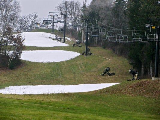Warm Weather Skiing