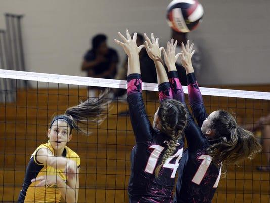 High School Volleyball: Merritt Island at Palm Bay