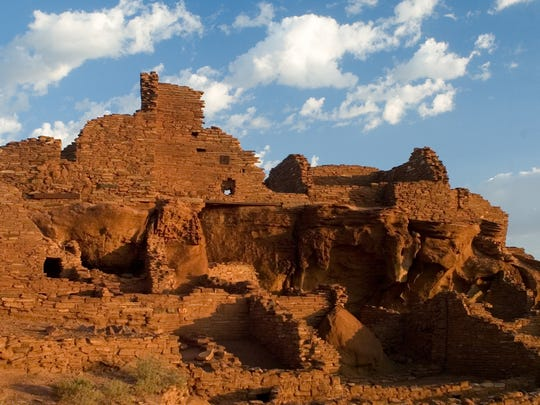 Wupatki Pueblo at Wupatki National Monument is among the attractions on this drive.