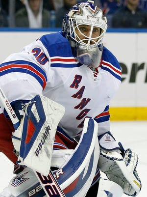 New York Rangers goalie Henrik Lundqvist will get most of the starts for Team Sweden in Sochi.