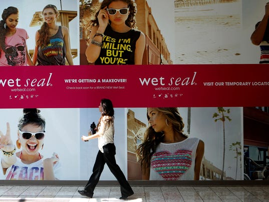 Wet Seal Store Closings