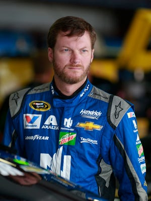 Dale Earnhardt Jr. has not raced since the July 9 event at Kentucky Speedway.