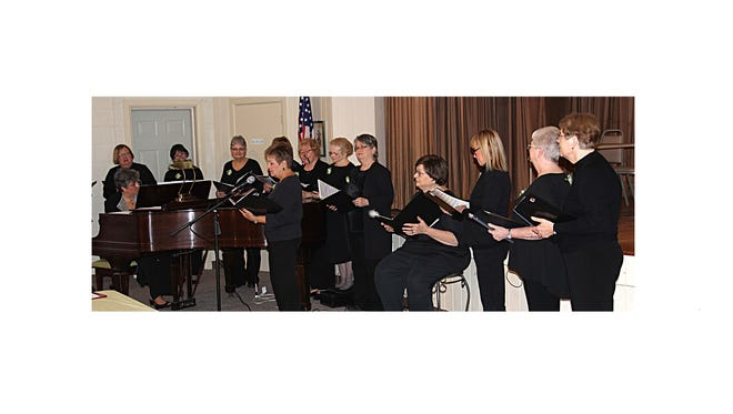 Millville Woman's Club's chorus celebrated on March 22 when, for the second consecutive year, it was selected to represent the southern region of the New Jersey State Federation of Women's Clubs at the group's statewide convention from May 8 to 10 at the Golden Nugget in Atlantic City.