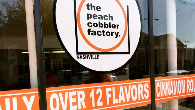The Peach Cobbler Factory is now open at 2604 Nolensville Pike.