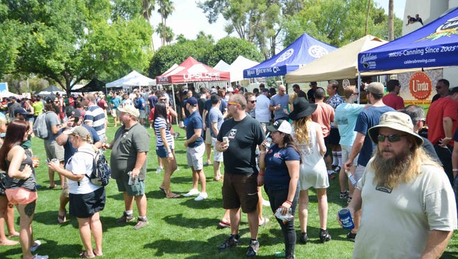 The AmeriCAN Canned Craft Beer Festival returns May 14 to Scottsdale Civic Center.