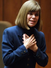 February 20, 2009 - Prosecutor Amy Weirich delivers