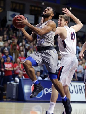 MTSU's Antwain Johnson is also starting to find his groove as MTSU continues its run.